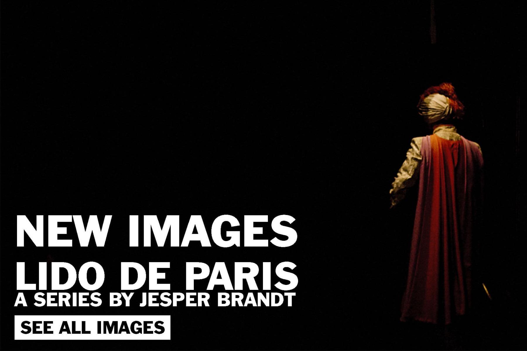 Lido de Paris a series by Jesper Brandt